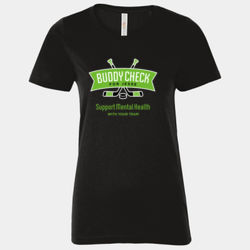 Support Mental Health with Your Team - Ladies Tee Thumbnail