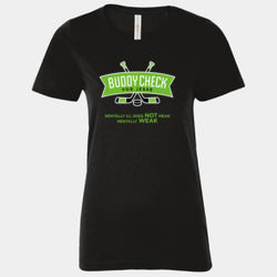 Mentally Ill Does Not Mean Mentally Weak - Ladies Tee Thumbnail